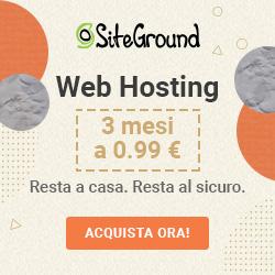 Offerta hostin Siteground